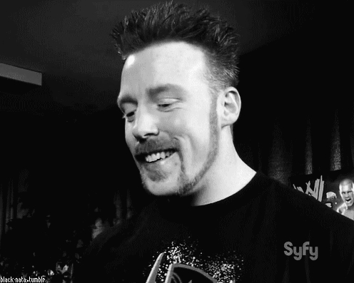 If it was Sheamus, I would let him sit there and continue watching TV. Du think I would dare kick him out?