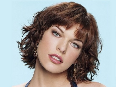 Hmm... For me, I guess it would be Milla Jovovich. She's really beautiful in my opinion.