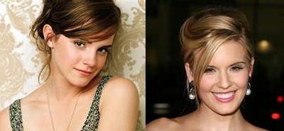 Emma Watson and Maggie Grace