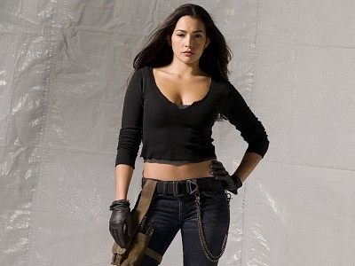 Natalie Martinez...doesn't hurt that she's from my kegemaran tunjuk as well.