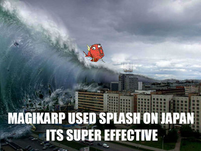 I know you're probably going to kill me for using a Magikarp picture but..You laughed didn't you? ;3