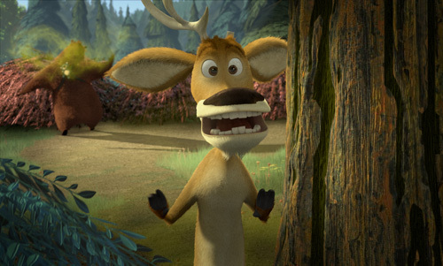 Open Season. I laughed my arsch off watching that movie. As for saddest? I dunno.