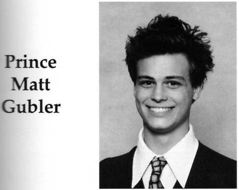 """This is the only pic of young MGG I could find. It's from his high school yearbook. Hope I helped! P.S. He looks so cute & I like the """"Prince"""" part!"""