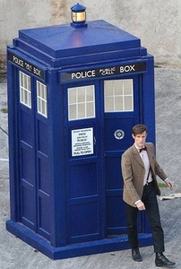 A man to montrer up in my backyard in his time traveling phone box and for him to ask me to be his companion. What? It could happen.