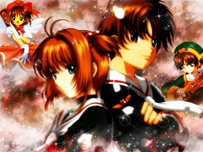 For me, It was Sakura from Card Captor. I wished that I was Lee (the one on the right)and was going out with Sakura (one on the left) I would have been 7, অথবা 8 years old at the time.