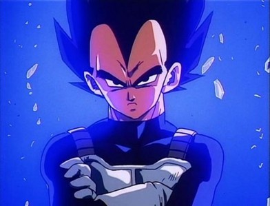 Vegeta....from Dragonball Z can't remember when i first found him... but i still প্রণয় him XD
