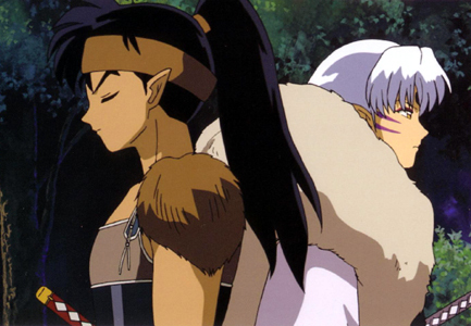 Koga and Sesshomaru!!!!!!!!!!!! XD