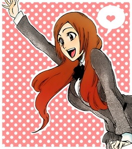 maybe orihime,because we are both ditz,nice and we like strange foods
