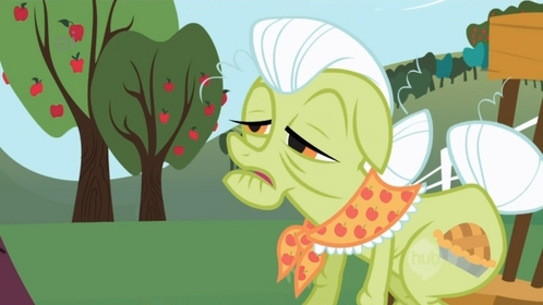 Ponies. My grandma.