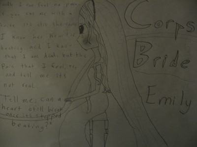 I like it a lot! O: tu can draw way better than me. I draw like crap.... (sorry, picture got cut off)...