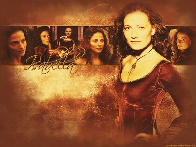 Isabella Gisborne from Robin Hood. Yeah dont have a print screen version.