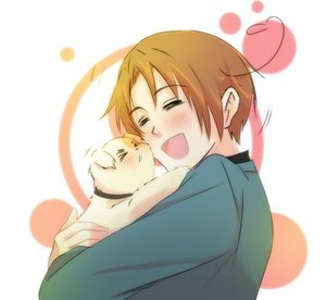 Its Italy-kun :D he is soooo cute!!!!!!! Yours is very funny looking lolxD