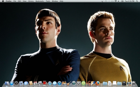 Spock and Kirk LLAP