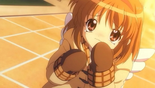 This is Ayu-chan from Kanon 2006! Cute eh?! >.<