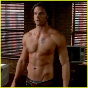 I like his body XD
