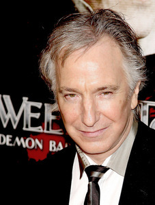 Alan Rickman, he is 65. And he is like, the hottest guy alive. PS: He plays Severus Snape