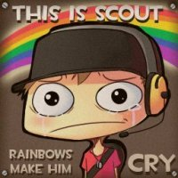 Sorry, but rainbows don't make me cry.