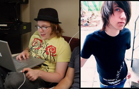 someone who looks like Patrick Stump(left) hoặc Alex Evans(right) hoặc a little of both ^_^
