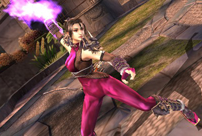 Taki from Soulcalibur.