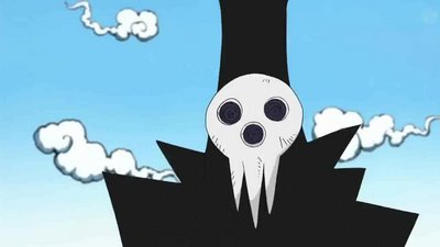 Shinigami from Soul Eater.