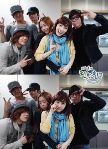 Taeyeon with Mblaq and 8eight :)