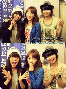 with Sunny and Sooyoung ^^