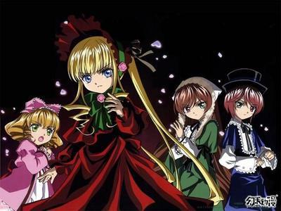 The rozen maiden dolls.