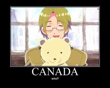 I'm Canada! How does no one notice me?