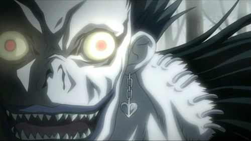 ... Well, Shinigami only eat apples, y'know.