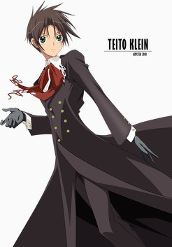 Mine is Teito Klein, and I actually dont know what to do then, maybe its up to him...