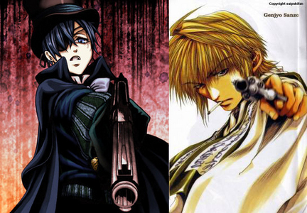 It's a tie between Ciel Phantomhive of 흑집사 & Genjou Sanzo from Gensoumaden Saiyuki. Sanzo: Abandoned at birth & tossed into a river, disrespected 의해 entire clan, his life is in danger every day, was almost raped 의해 bandits, is a magnet for insane perverts & unwanted love, his foster father was slaughtered in front of his eyes, he contemplated suicide & chose to be a killer, he has to put up with Gojyo & 고쿠 bitching in the car for hours on end every day, & he often sees entire villiages of people slaughtered when he was trying to save them. Ciel: His family was killed, he was stripped & nearly murdered before he sold his soul to a demon, it's highly suggested he was raped 의해 a large group of adults, he has no 프렌즈 his age, he's been forced to crossdress, a paedophile forced him to relive his childhood trauma, & at the age of 11 또는 12, he's already shot a man in the face, had his servants kill hundreds of intruders, & burned down a house full of children.