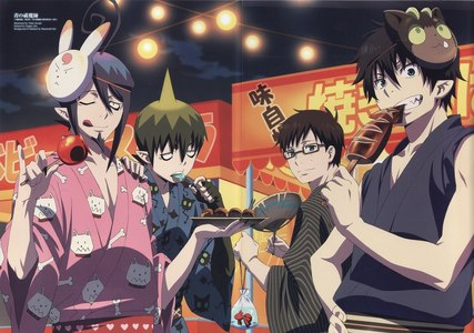 The demon brothers in Ao no Exorcist:D I 사랑 'em all