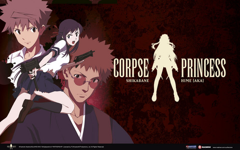 Not sure if it can be considered gothic, but Corpse Princess is pretty badass. And it's streaming on Netflix (english dubbed, too).