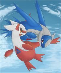 I LOVE Pokemon. I have since the first time I watched it. And I absolutely LOVE Latios and Latias. I could never pick between the two. :)