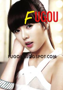Kim HyunA, she looks like a Barbie.