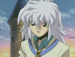 Ryou Bakura has eyes like a teddy bear!