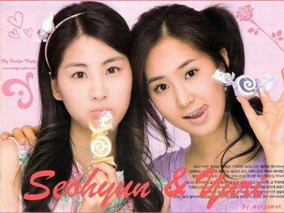 for me..seohyun and yuri :))