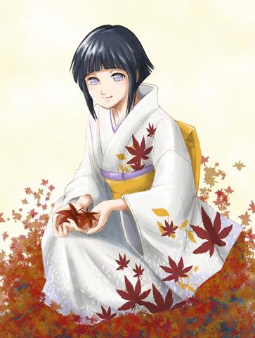 Hyuga Hinata 4m Naruto-