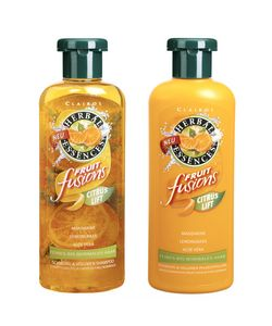 Suave Professionals. It makes my hair super soft. I really wish they still made this Herbal Essence shampoo. It made my hair smell fantastic.