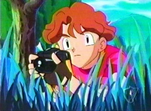 <b>Well,here's a picture Toru-san from Pokemon,with his camera.</b>