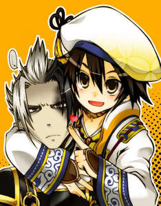Kanbei and Hanbei.. X3 ~<33 (They're from the Samurai Warriors videogames)