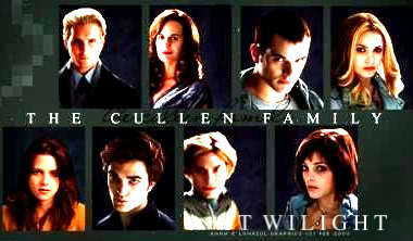the cullens but my پسندیدہ is edward and rosalie.