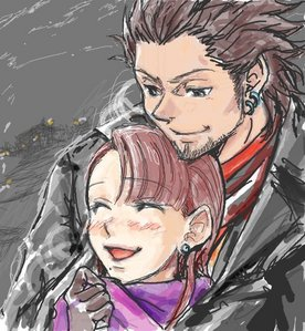 Souryuu and Chihiro from the Gyakuten Saiban video game series <3 <3