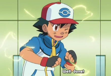 <b>Here's a picture of Satoshi-kun (his Japanese name) from Pokemon,wearing his hat/cap!^^</b>