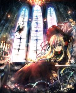Shinku from Rozen Maiden <3