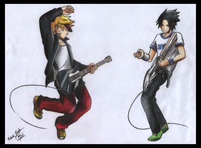 Naruto and Sasuke ^^