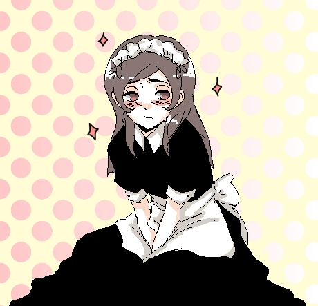 macca makes a pretty maid X3