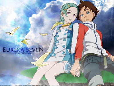 Eureka 7 is a Romantic Mecha Anime.