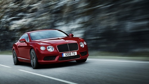 I can only afford it in my dreams but boy do I want one! *drools* It is a new Bentley Continental GT V8