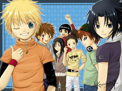Cute, yeah? xDD Hope anda like! Even though anda don't like Naruto... >.<
